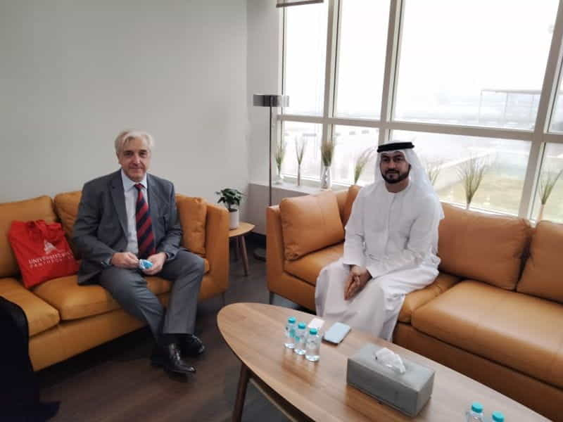 President of the University of Paris II visits Dubai Judicial Institute