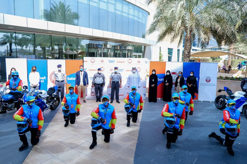 talabat partners with Abu Dhabi Police and Integrated Transport Centre to launch 'talabat Patrol'