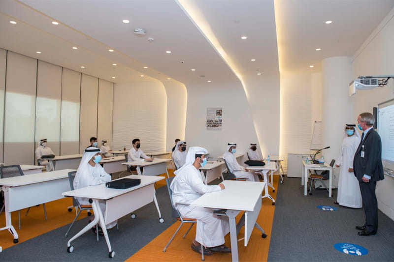 Rabdan Academy Students Back to Study at the Campus