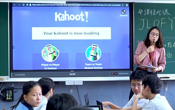 BenQ Announces the New Integration of Kahoot! App on BenQ Interactive Panels